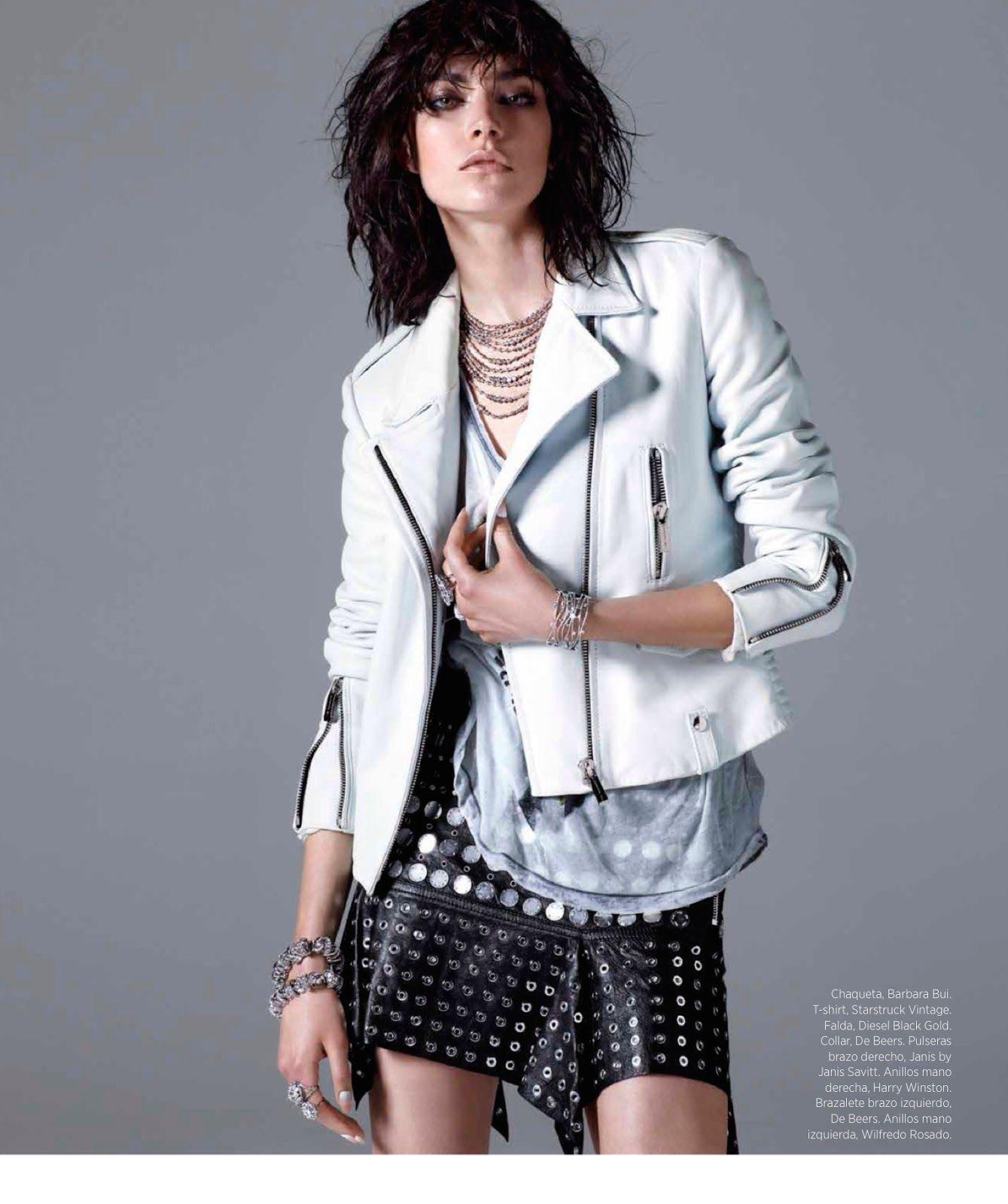 Tough Diamonds: Jacquelyn Jablonski By Hunter & Gatti For Harper's Bazaar Mexico May 2014