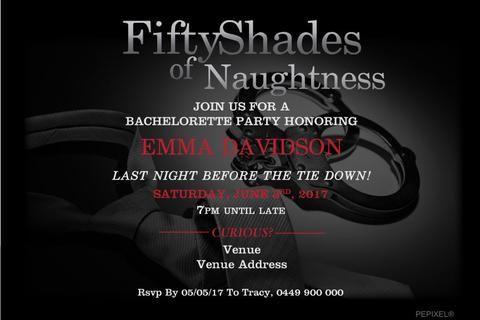 Bachelorette Party Invitations Party Invitation Template 50
