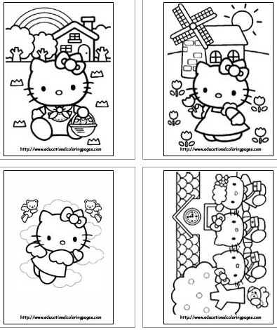 Free Hello Kitty Coloring Pages Kitty Coloring Hello Kitty Coloring Hello Kitty Colouring Pages