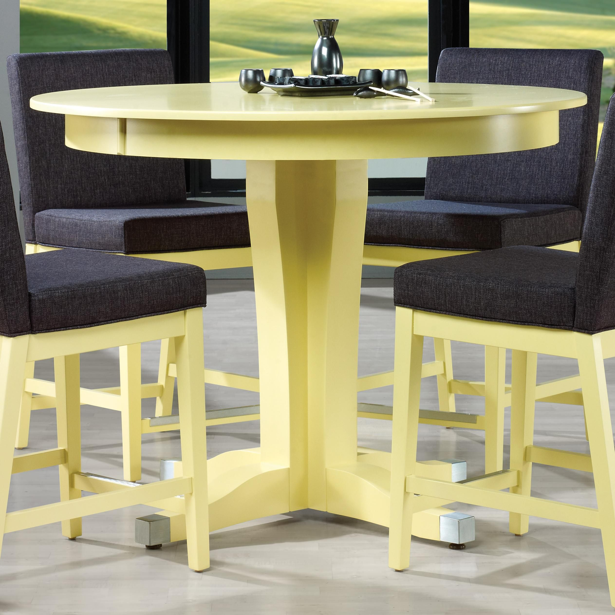 Patio Furniture Repair St Paul Mn: High Dining Customizable Round Counter