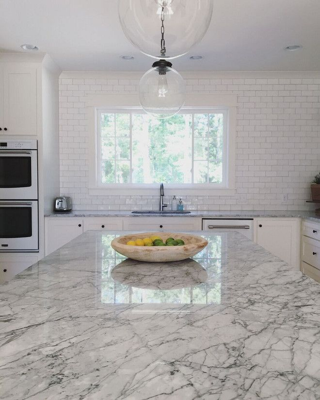 Countertops Are Polished Carrara Marble Countertops Are Polished