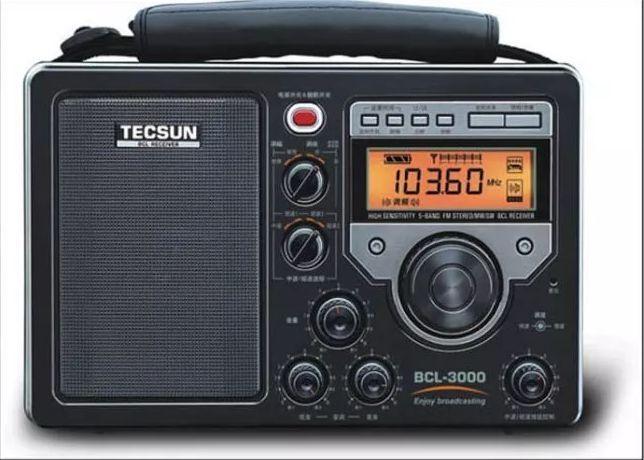 Free Shipping Tecsun Bcl 3000 World Band Receiver Am Fm Sw Analog