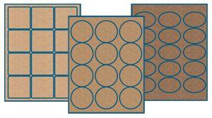 Craft paper labels