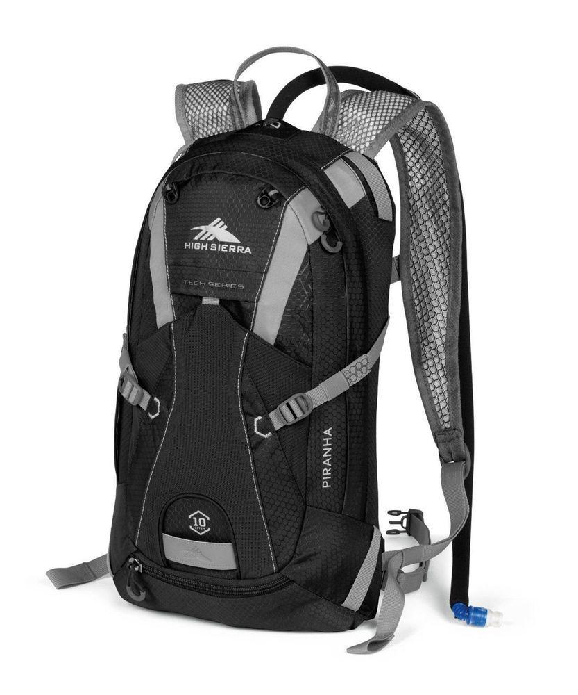High Sierra Piranha Hydration Back Pack NEW/NWT Hiking Running Biking $100 Ret #HighSierra #BackPack