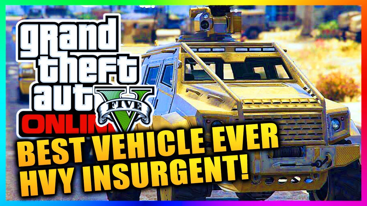 How To Get The Hvy Insurgent In Gta 5 Online