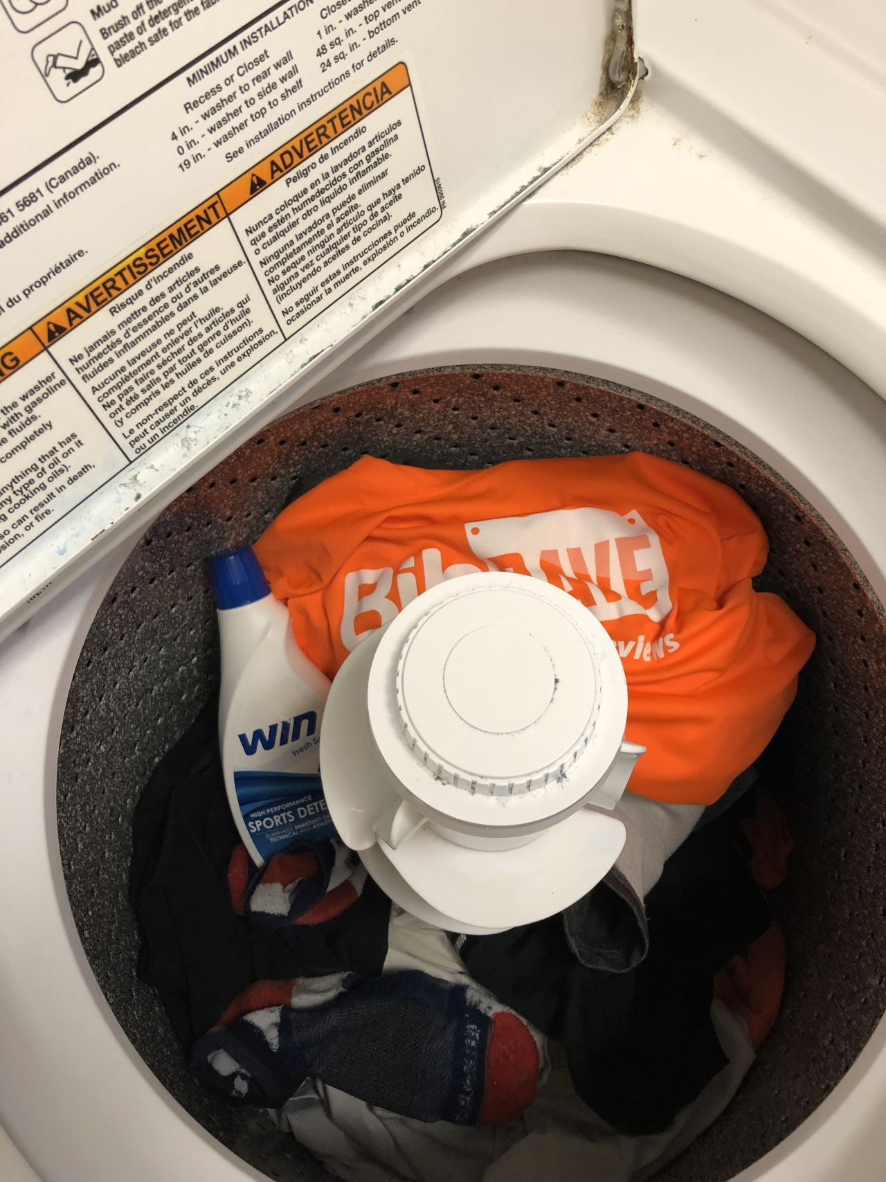 Turning Laundry Into a Win, with Win Detergent! Laundry