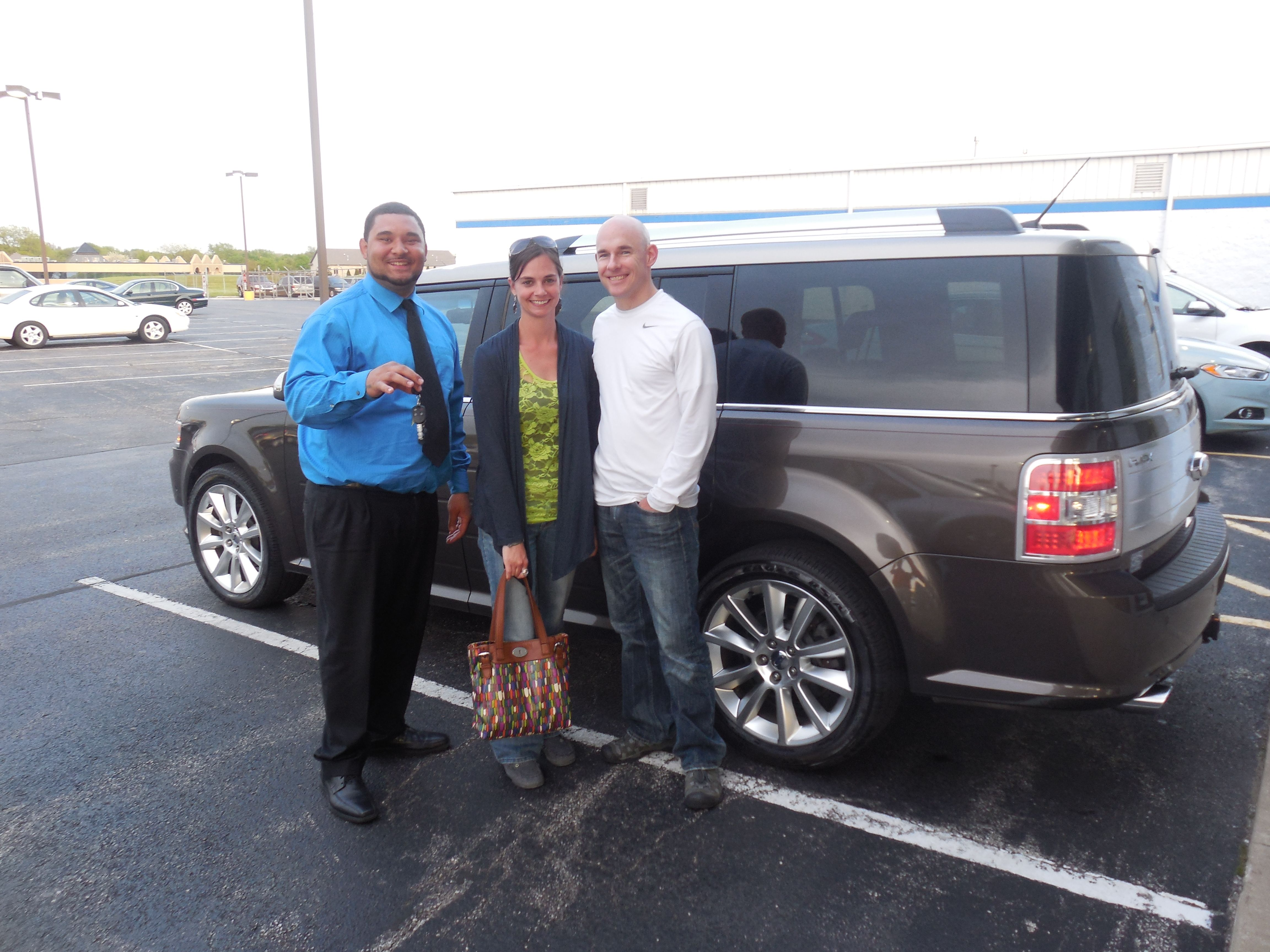 Congratulations to Andy Michmerhuizen from West Michigan on the purchase of his 2011 Ford Flex! Tony Hendershot and the rest of us at Court Street Ford would like to thank you for your business!