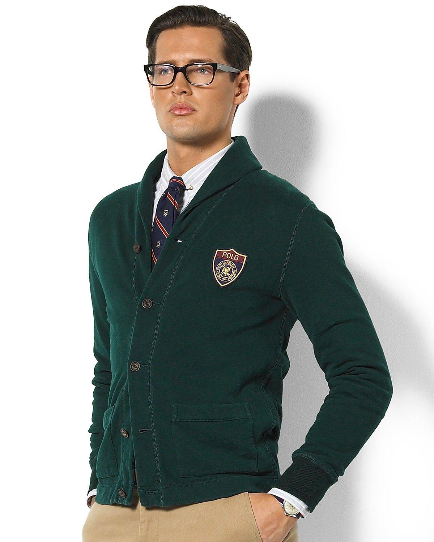 Polo Ralph Lauren shawl collar Sweater | Polo Ralph Lauren Fleece  Shawl-Collar Cardigan |