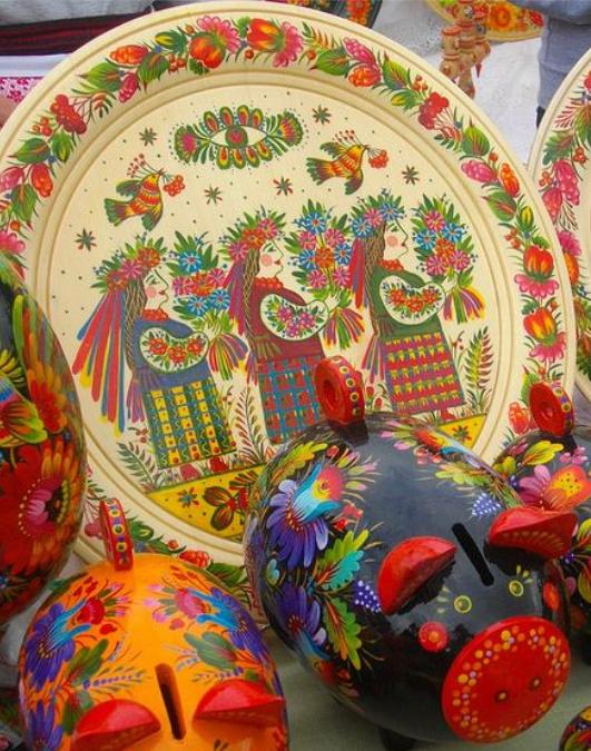 Ukrainian ceramic, from Iryna