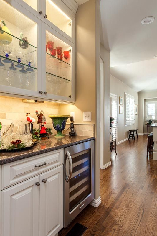 I Really Love A Butlers Pantry! Iu0027d Really Love A Butler Too!! :) Luxury Kitchen  Remodel With White Cabinets Greenwood Village