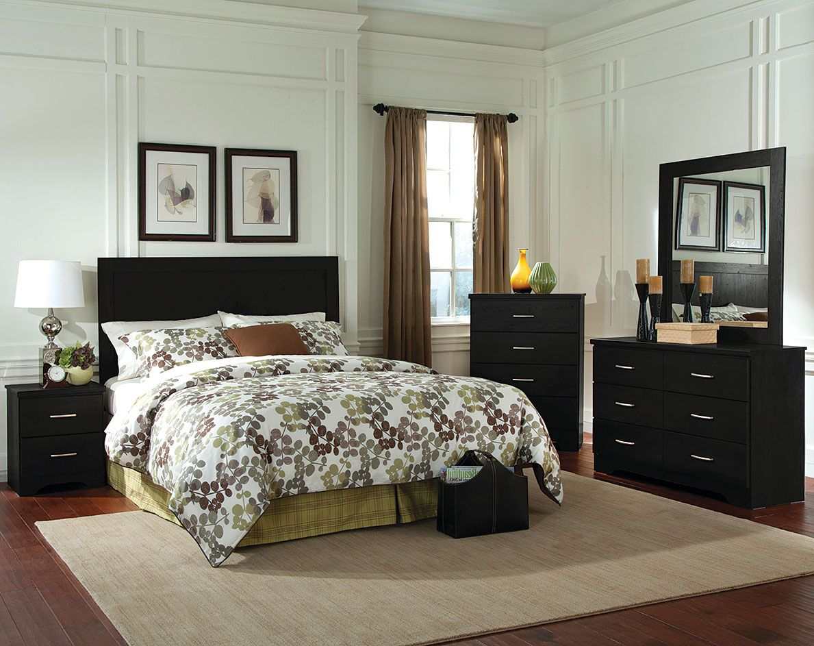 Bolden Bedroom Set With Headboard Dresser Mirror Chest - American furniture and mattress