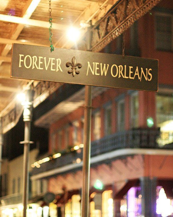 "New Orleans Photography, French Quarter Picture, ""Forever New Orleans"" Mardi Gras Print. Yellow Red. 8×10, 11×14, 16×20, 20×24, 24×30, 24×36"