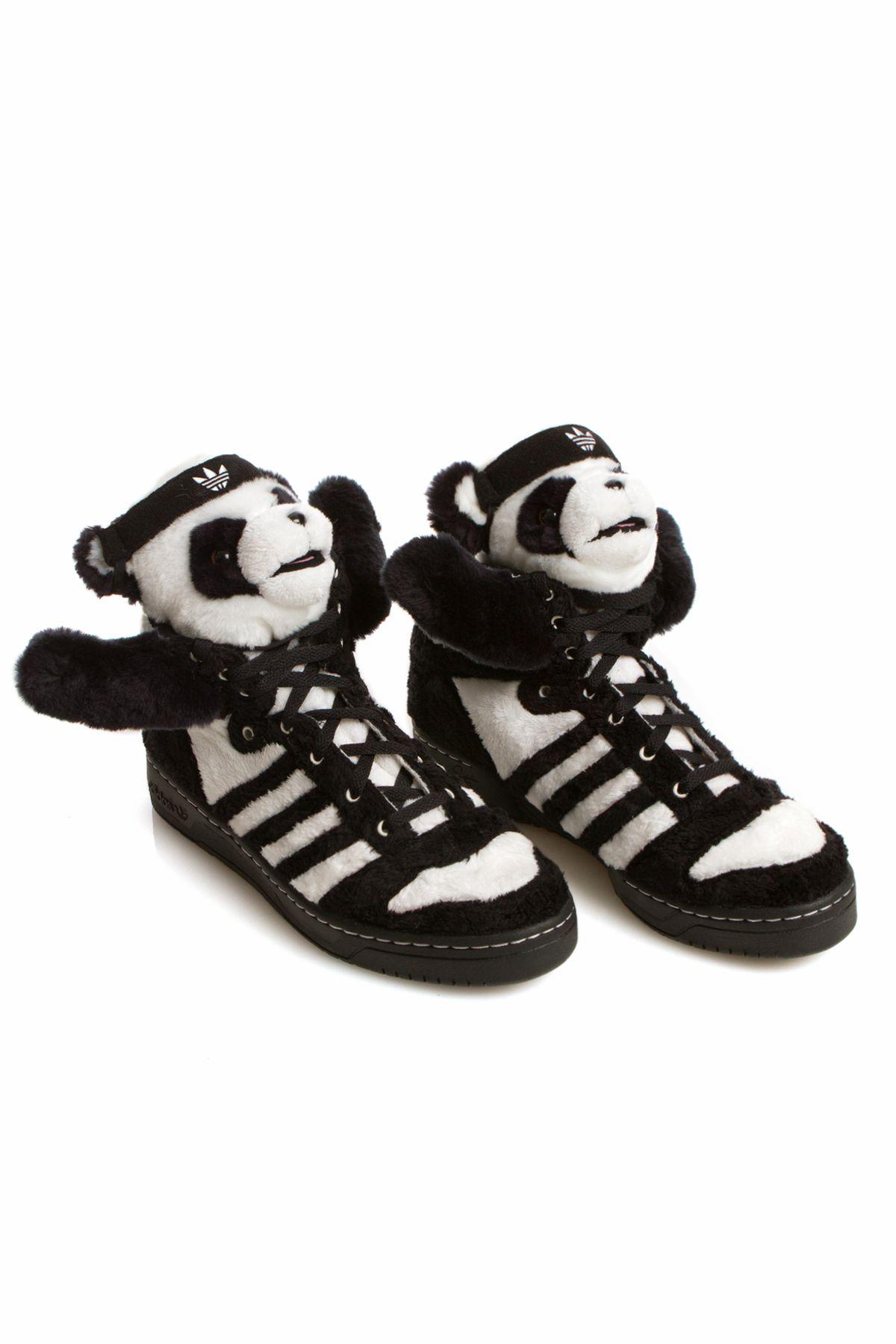 adidas panda by jeremy scott