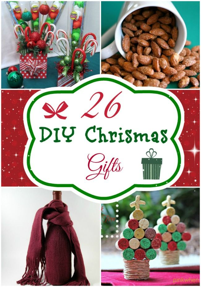 Easy Craft Gift Ideas For Christmas Part - 48: DIY Christmas Food U0026 Craft Gifts