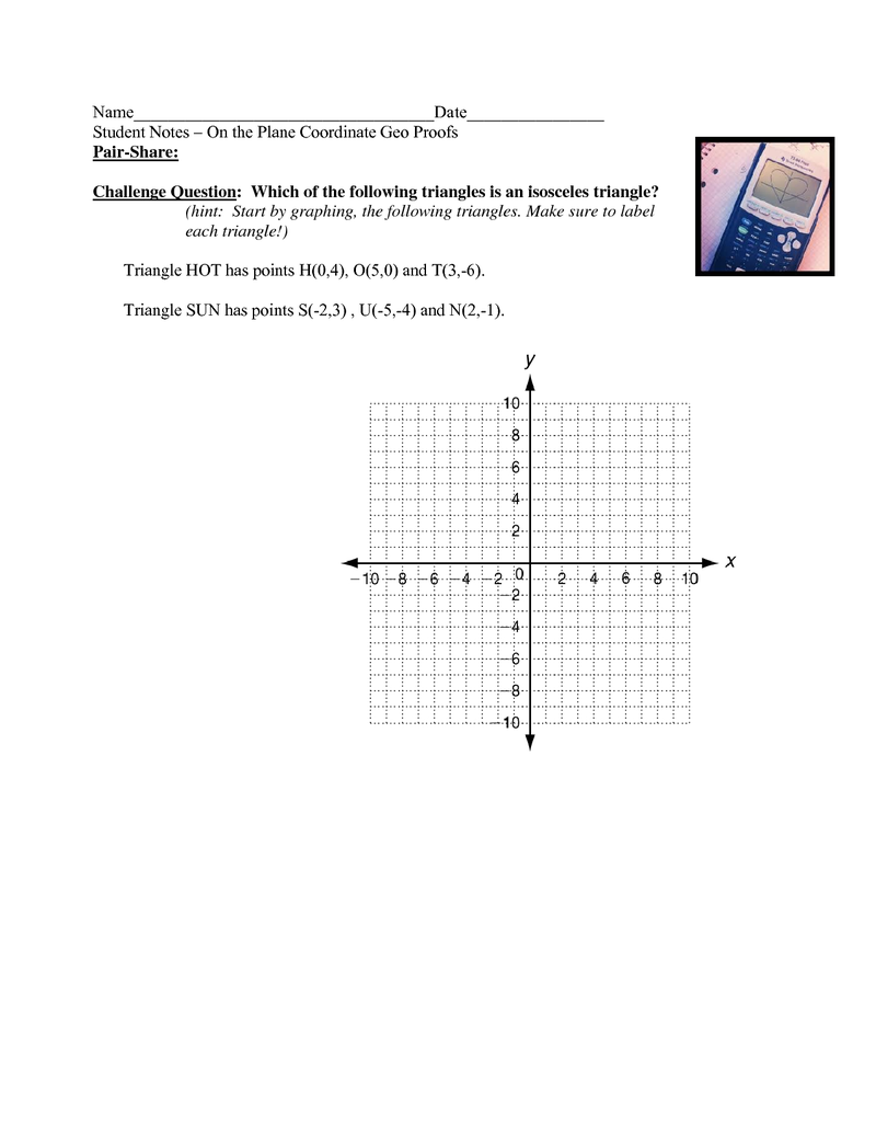 Complete Student Notes On The Plane Coordinate Geometry Proofs Geometry Proofs Coordinate Geometry Coordinates [ 1035 x 800 Pixel ]