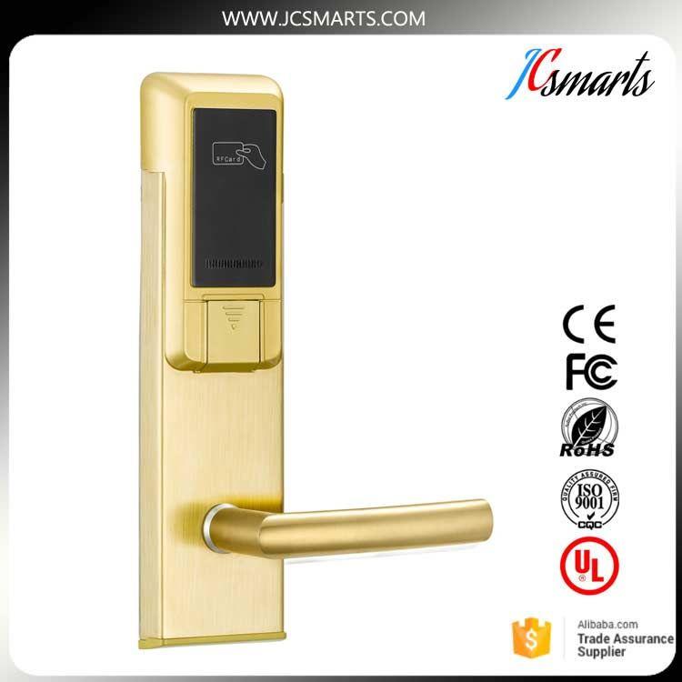 Korea Digital Door Lock Electric Sliding Door Locks Rfid Electronic Hotel Lock Using Magnetic Card Digital Door Lock Magnetic Card Hotel Lock
