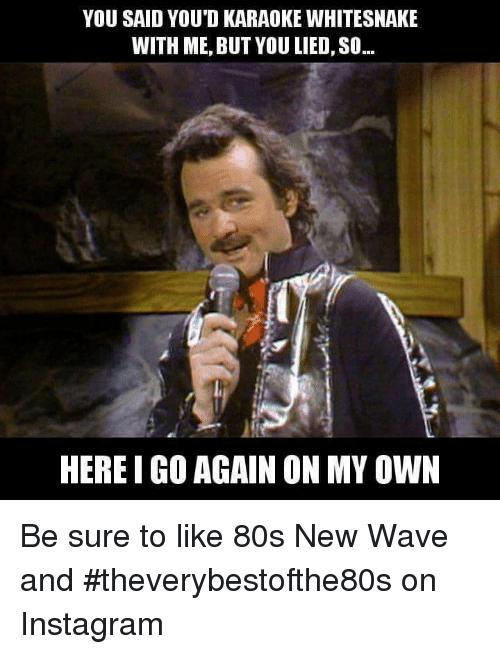 FUNNY 80s MUSIC MEMES Song memes, Karaoke funny, Music memes