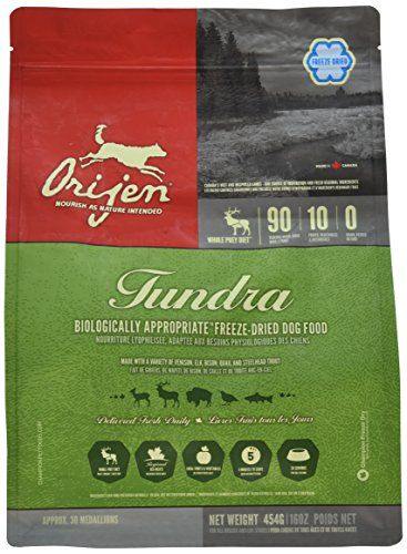 Orijen Freeze Dried Tundra Formula 16 Oz Dog Food Recipes Dry