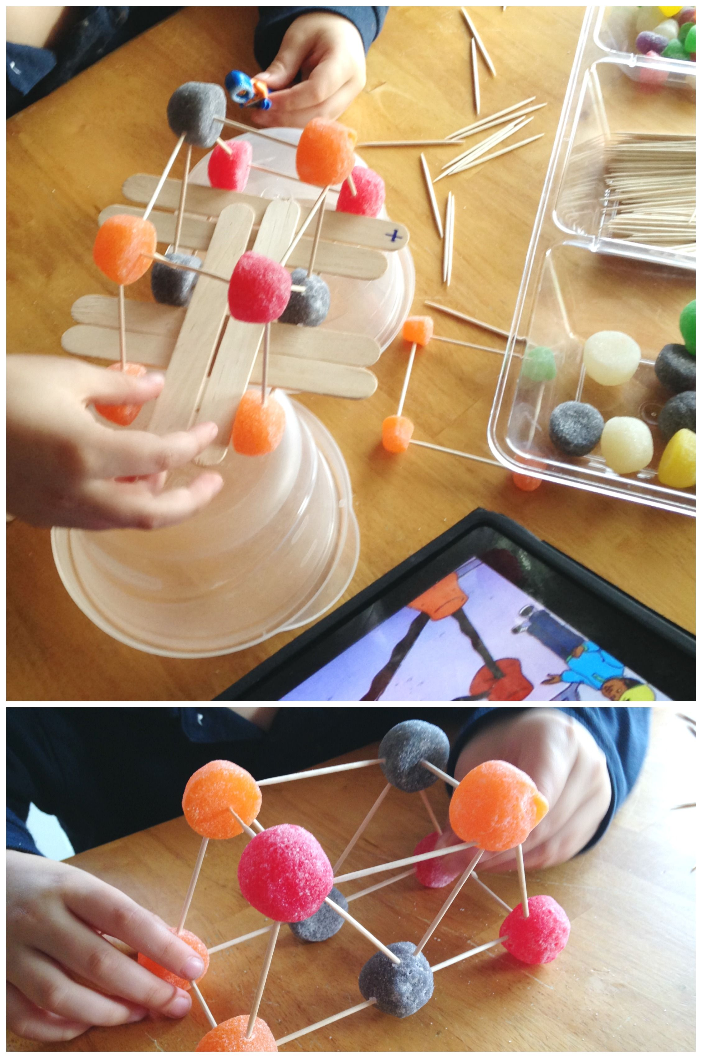 Gumdrop Bridge Building Engineering Activity Stem