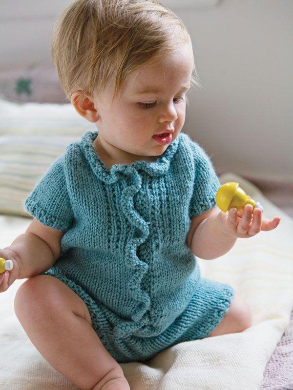 Crochet Baby Romper | Crochet | Pinterest | Bebé y Bebe