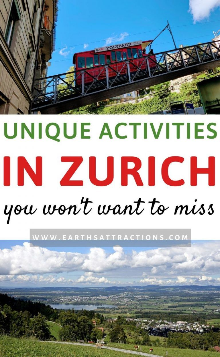 Unique activities in Zurich, Switzerland to include on your Zurich trip. Discover the best unique t