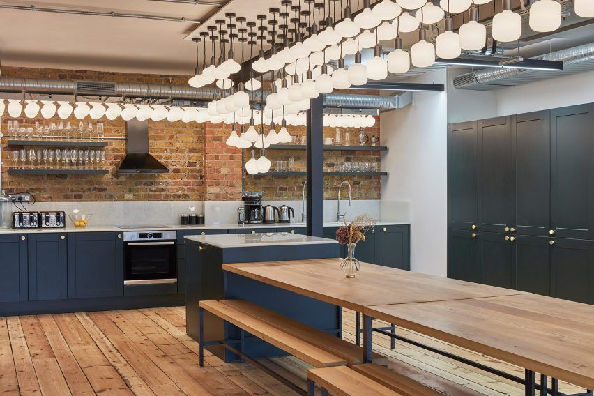 Beautiful Office Furniture Designs with Warehouse Concept ...