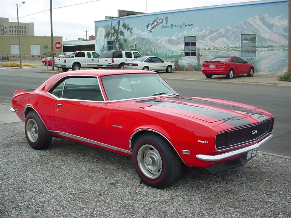 1968 CHEVROLET CAMARO RS/SS COUPE –  – Barrett-Jackson Auction Company – World's Greatest Collector Car Auctions