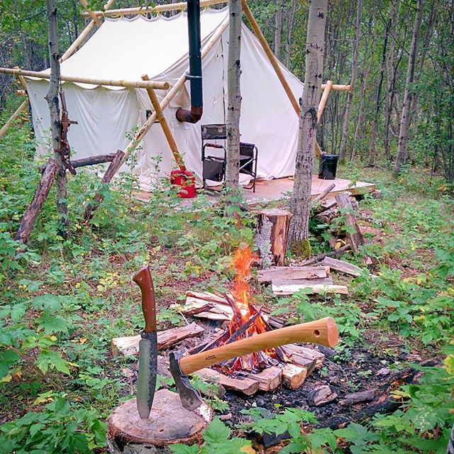 Bushcraft Survival Skills: Some Woodsy Time With A Few Sharp Blades Was Needed This