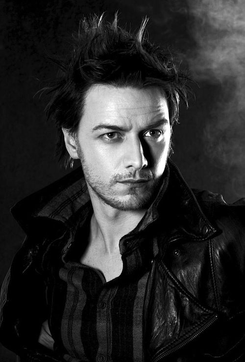 Rock and Roll James McAvoy   British Isles Hotties   Pinterest ...