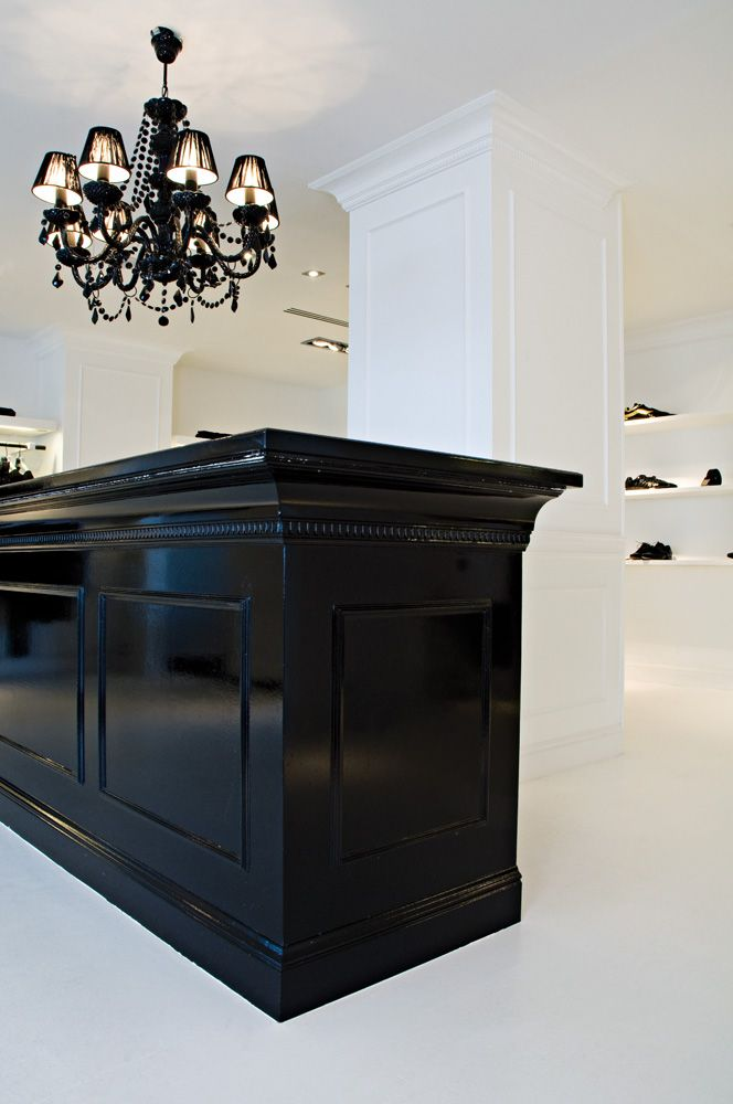 Some Nice Glossy Paint Can Bring An Old Reception Desk Of Styling Station To Life