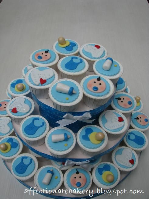 Adorable cupcake idea for a baby shower recipes and fun for Cupcake recipes for baby shower girl