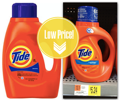 Hot 2 00 Coupon Tide Laundry Detergent Only 3 24 At Walmart
