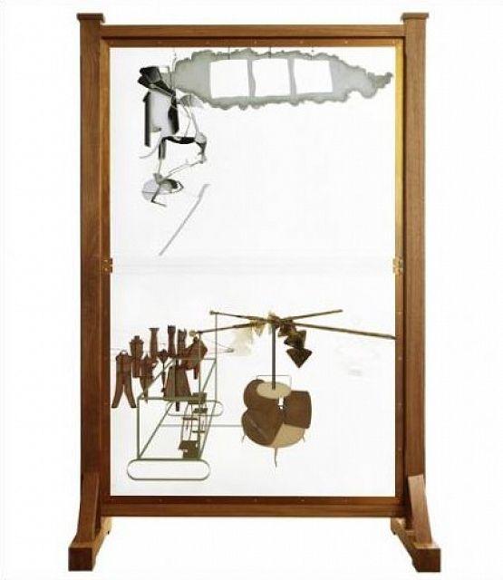 Marcel Duchamp, La peinture, même, Peinture, Centre Pompidou, Paris, France | Marcel duchamp ...