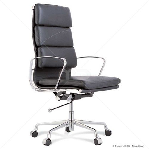 eames reproduction office chair. SOFT PAD Management Office Chair - Eames Reproduction High Back Black 11% OFF |