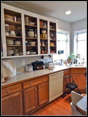 1 remove cabinet doors 2 prime the frames w 2 coats of glidden rh pinterest com