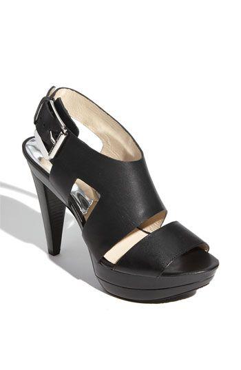 7b052d90421 MICHAEL Michael Kors 'Carla' Sandal available at #Nordstrom Colección De  Zapatos, Botas