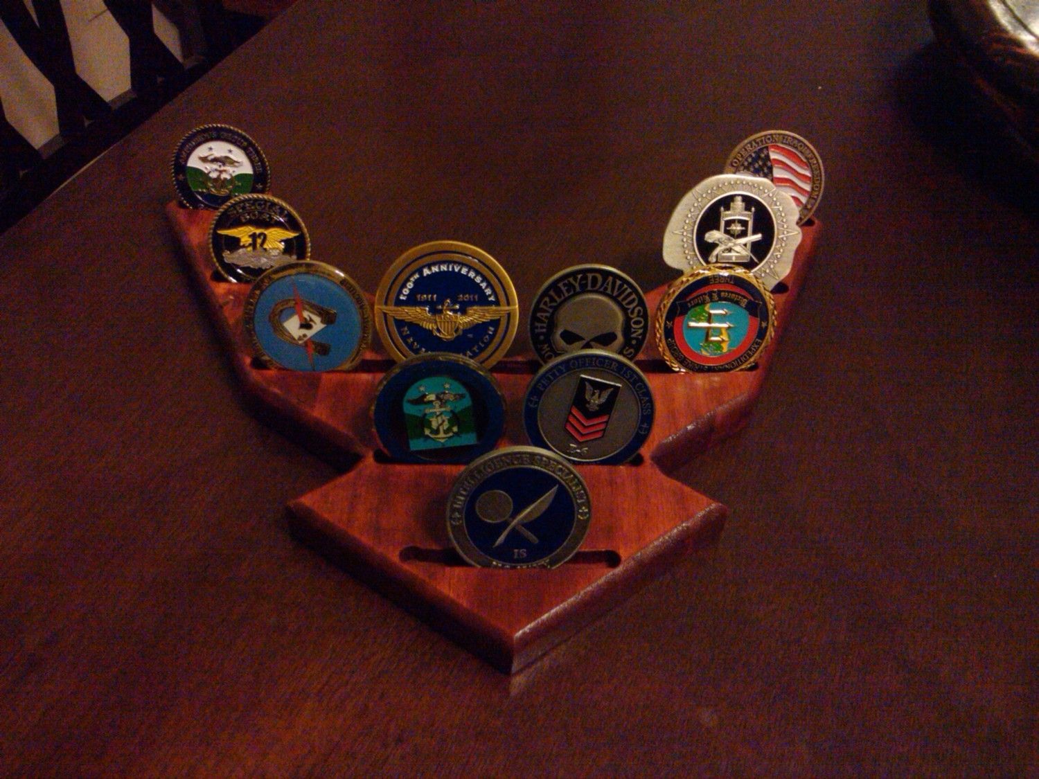 Air Force Challenge Coin Holder... I have to get one for