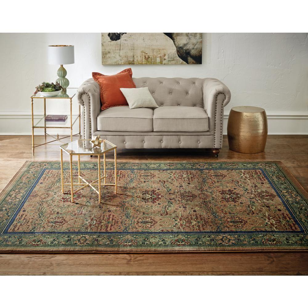 Home Decorators Collection Gordon Natural Linen Loveseat Living