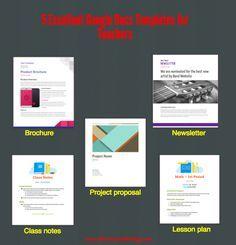 Excellent Google Docs Templates For Teachers Google Docs - Google docs newsletter templates free