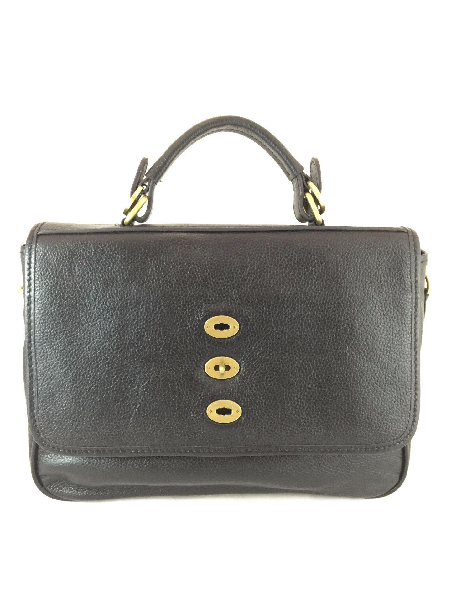 A5025 Pebble Embossed Genuine Leather Turn Lock Cross Body Satchel Handbag Clearance