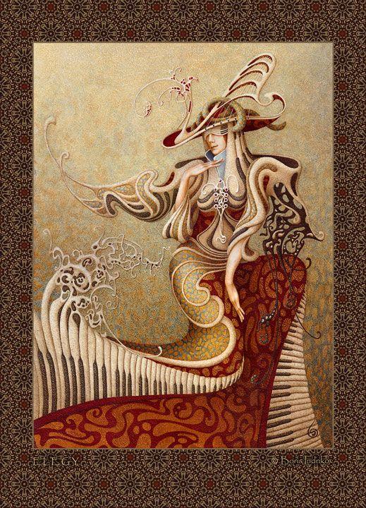 Art by Boris Indrikov - Coffeenuts on tumblr