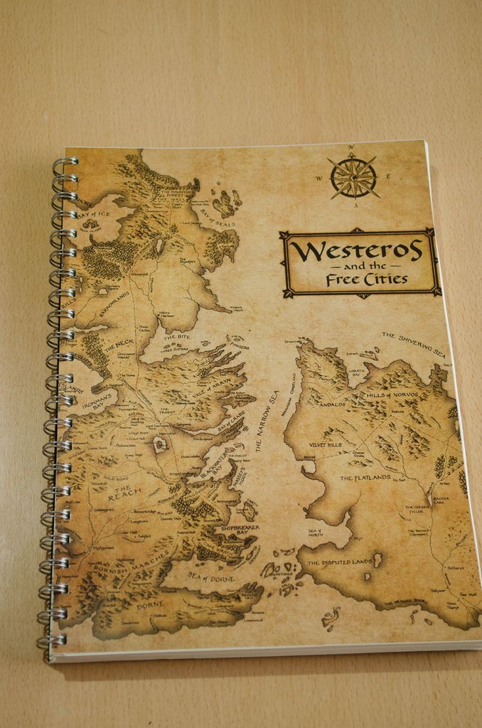 Anillado Mapa de Westeros - Juego de Tronos | Everything Game of ...