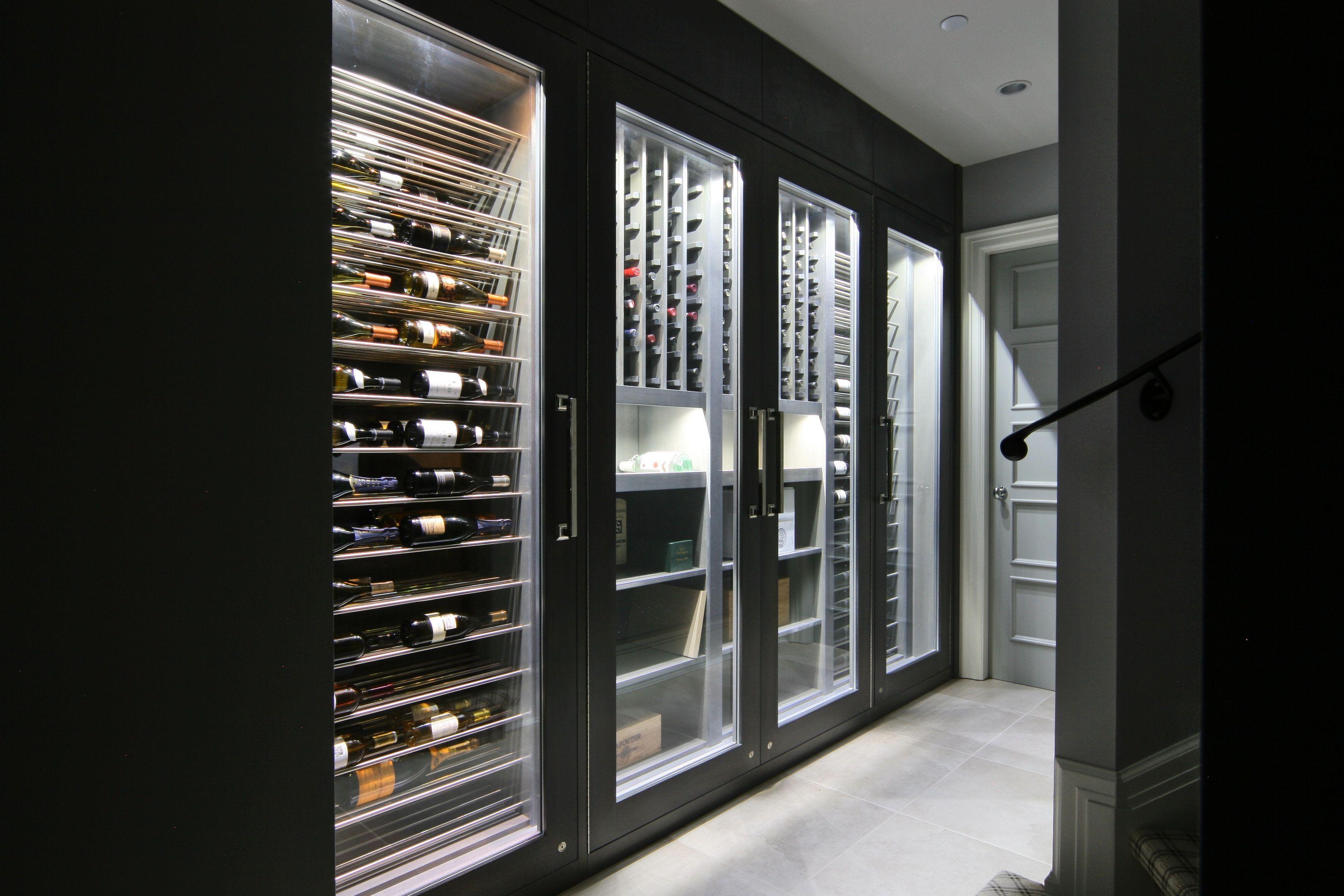 Vin De Garde Custom Modern Wine Fridge Adegas Em Casa Adega De