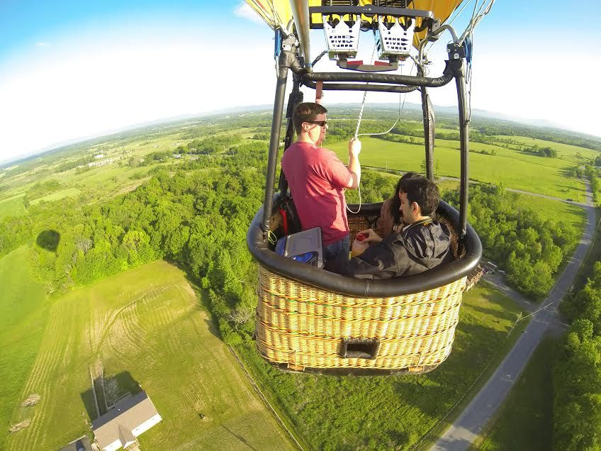 Now that's a view! #adkballoonflights #hotairballoons #photography