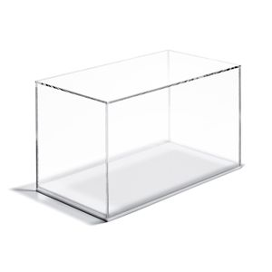 Clear Acrylic Box Display Cases Display It Store Fixtures Displays Christmas Foliage Decor Display Case Clear Acrylic Acrylic Box