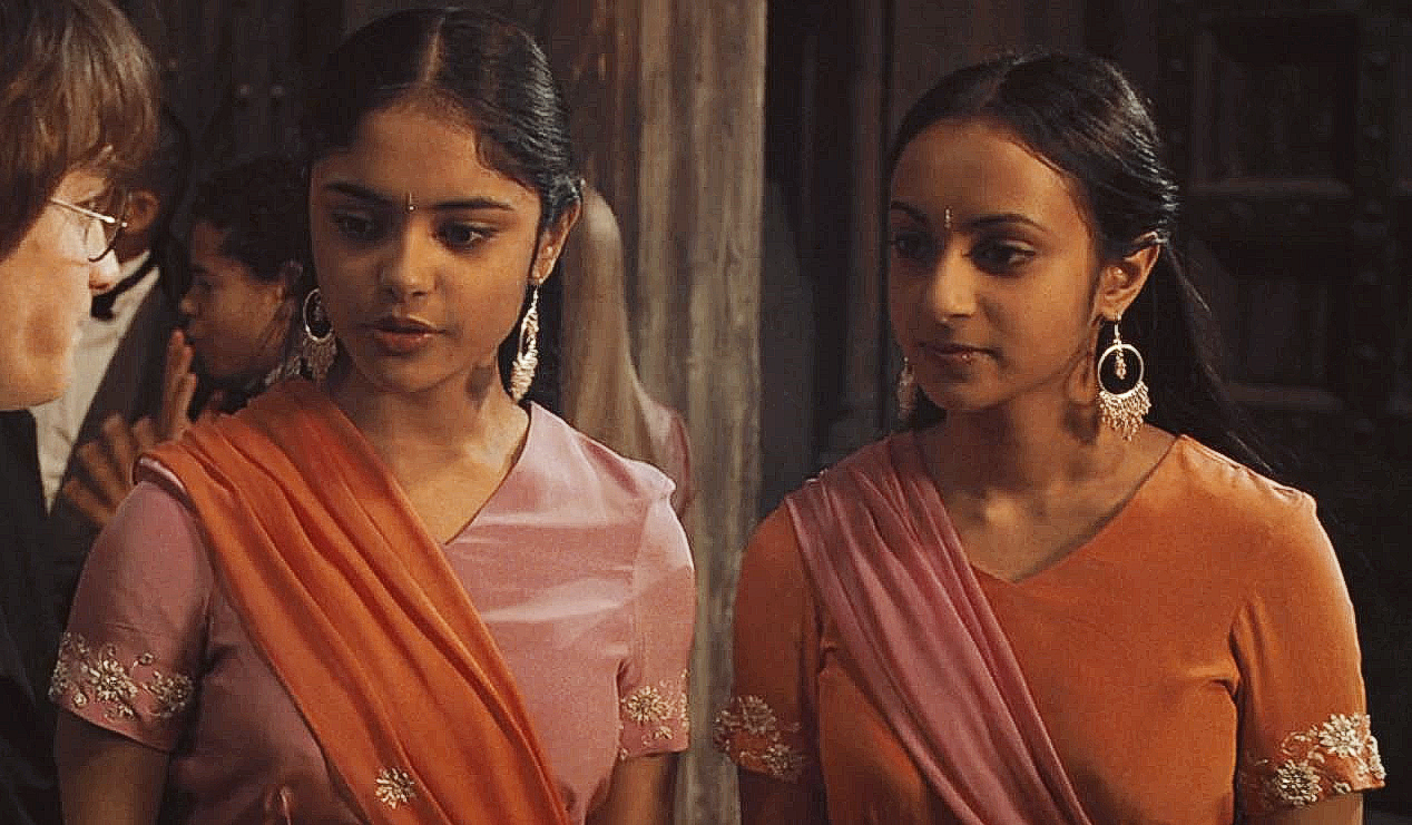 Padma And Parvati Patil Harry Potter Facts Harry Potter Costume Harry Potter Parts
