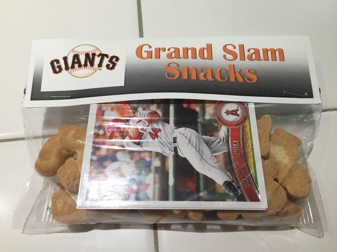 Dinos Dollies Free Giants Baseball Team Printables Baseball Snacks Giants Baseball Baseball Team