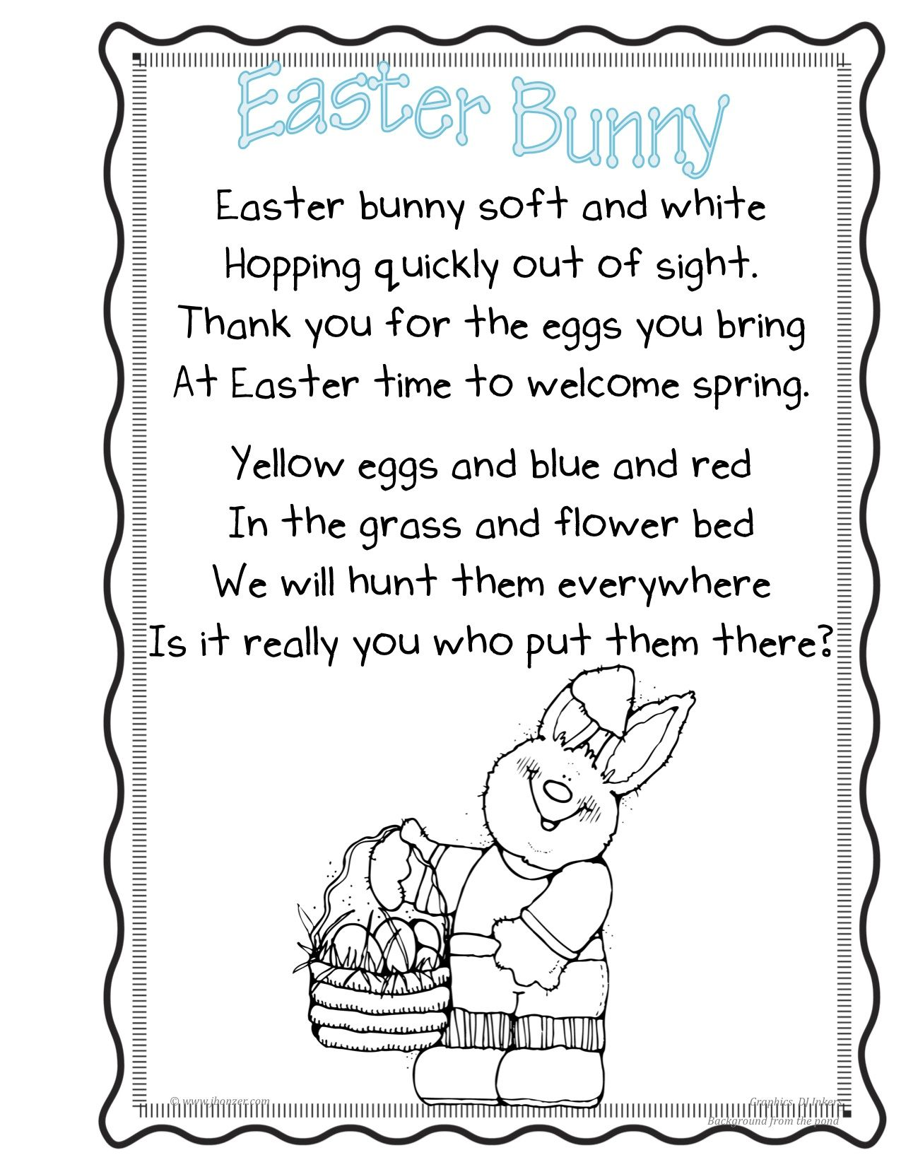 Easter Poems For Children Google Search