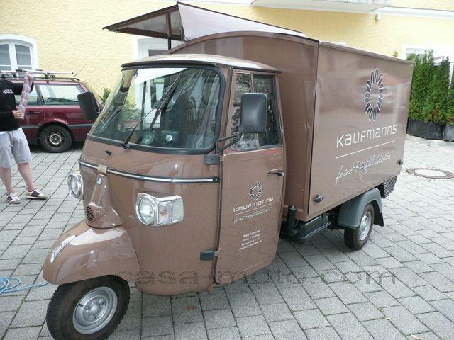 verkaufsaufbau kaffeemobil piaggio ape verkaufsmobil verkaufsstand kaffeeape food mobiles. Black Bedroom Furniture Sets. Home Design Ideas
