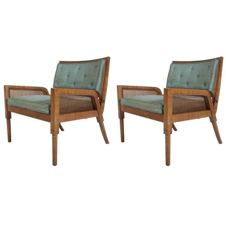 Pair Of Mastercraft Mid Century Modern Lounge Chairs Mid Century